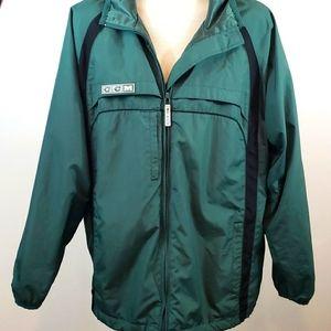 CCM Hockey Windbreaker Zip Jacket size M